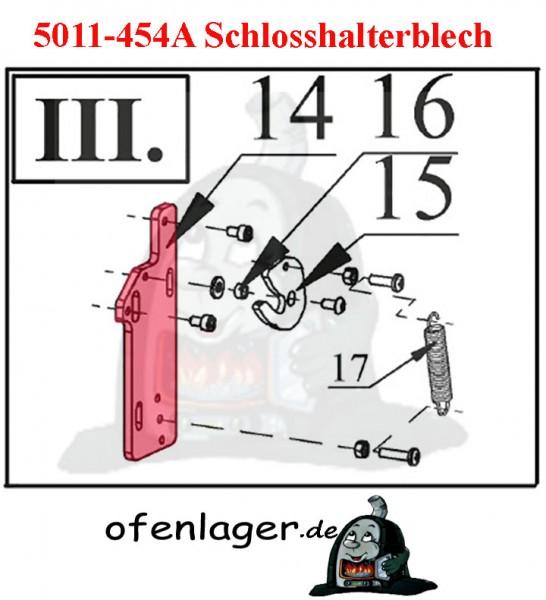 5011-454A Schlosshalterblech