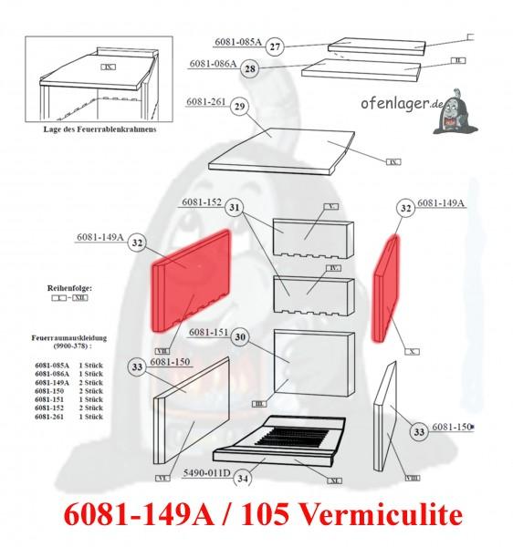 6081-149A Vermiculite / 1 Stück