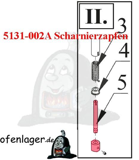 5135-002A Scharnierzapfen
