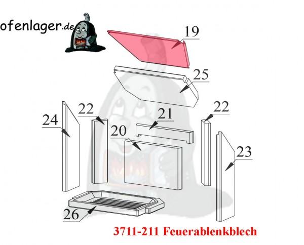 3711-211 Feuerablenkblech