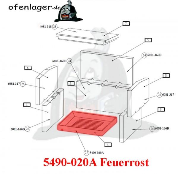 5490-020A Feuerrost