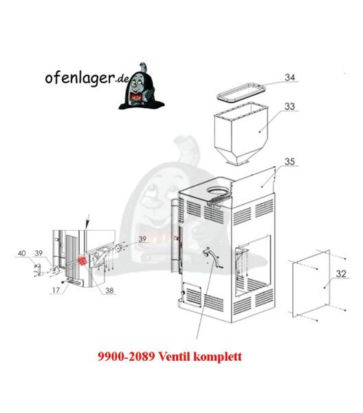 9900-2089 Ventil komplett