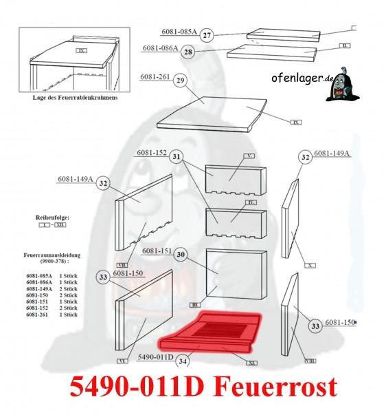 5490-011D Feuerrost
