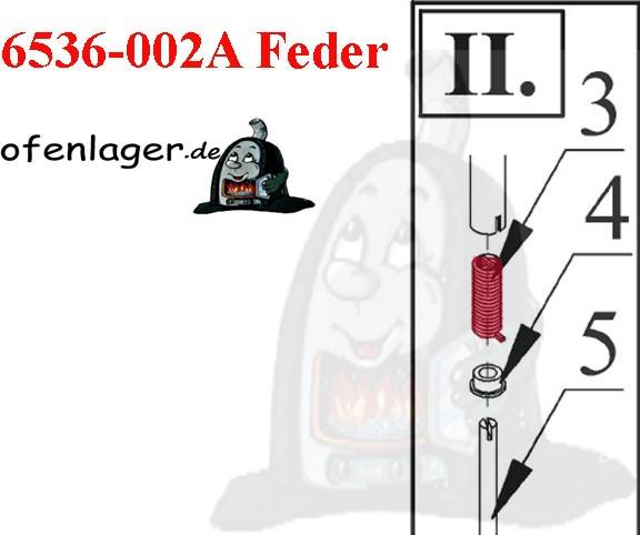 6536-002A Türfeder oben