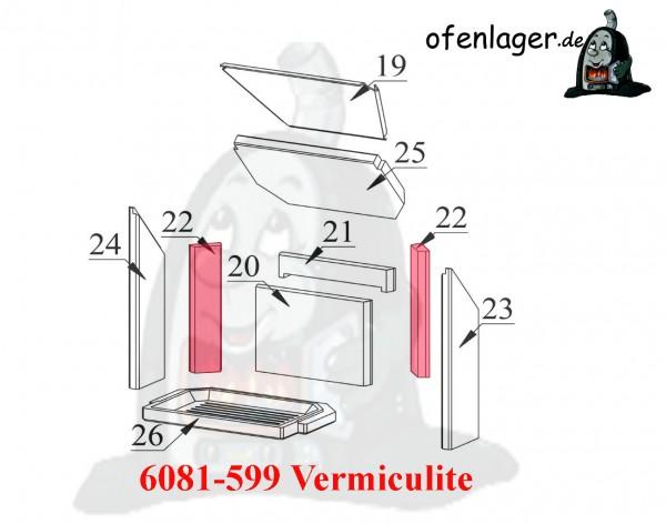 6081-599 Vermiculite / 1 Stück