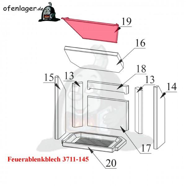 3711-145 Umlenkblech